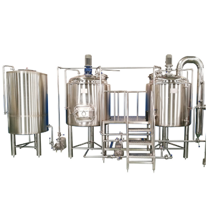Semi Automatic 500 Gallon Vending Beer Brewery Fermenter