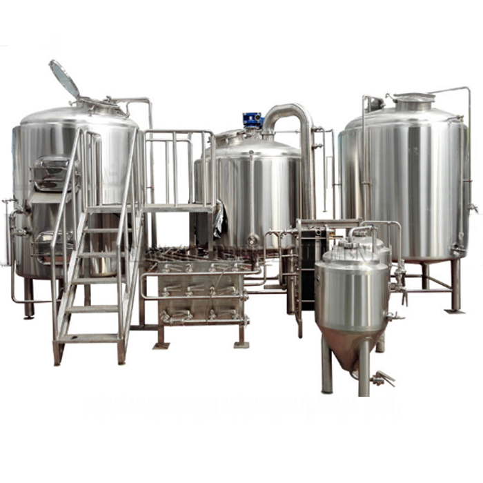 Automatic 7 Barrel Steam Brewing System China Brewery