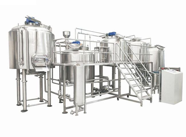 10000L Industrial Beer Brewing Equipment - Jinan Zhuoda